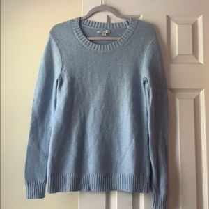 J.Crew Mercantile light blue knit sweater, size XS